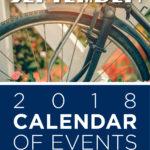 September 2018 Calendar of Events