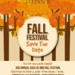Casa de Oro Alliance Third Annual Fall Festival