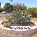 Brookside La Mesa Neighborhood Sign